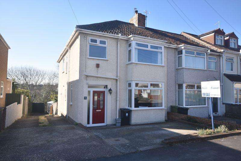 4 Bedrooms End Of Terrace House for sale in Teewell Avenue Staple Hill