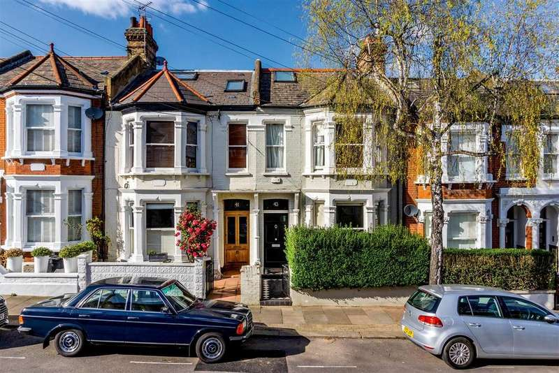 4 Bedrooms Terraced House for sale in Bramfield Road, SW11