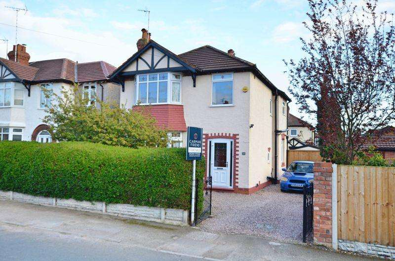 3 Bedrooms Detached House for sale in Elmwood Avenue, Hoole, Chester