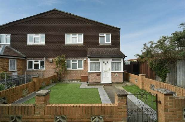 3 Bedrooms Semi Detached House for sale in Cresswell Close, Reading, Berkshire