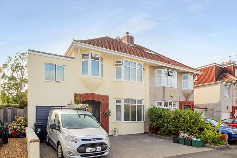 4 Bedrooms Semi Detached House for sale in Highridge Green, Uplands, Bristol, BS13