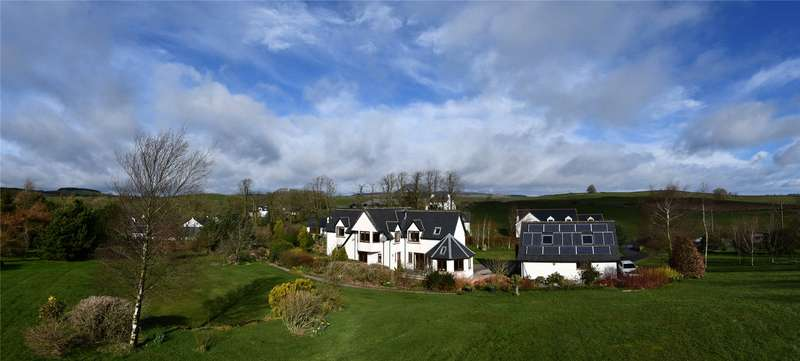 4 Bedrooms Detached House for sale in Taliesin, Milton, Crocketford, Dumfries, Dumfries and Galloway, DG2