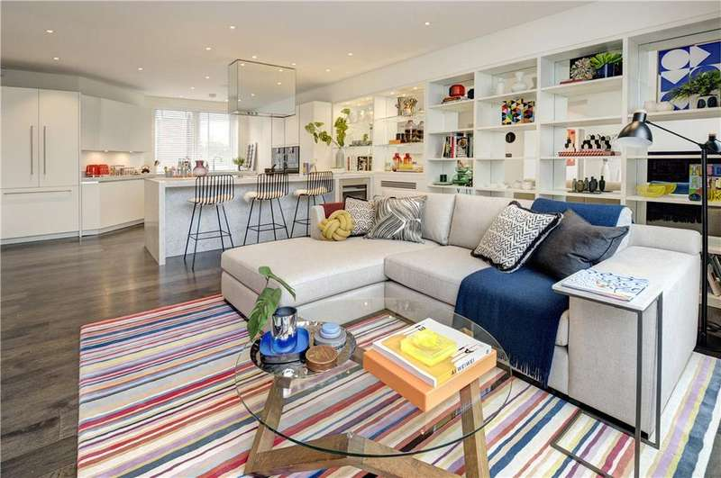 3 Bedrooms Penthouse Flat for sale in Hampshire House, 12 Hyde Park Place, Hyde Park, London, W2