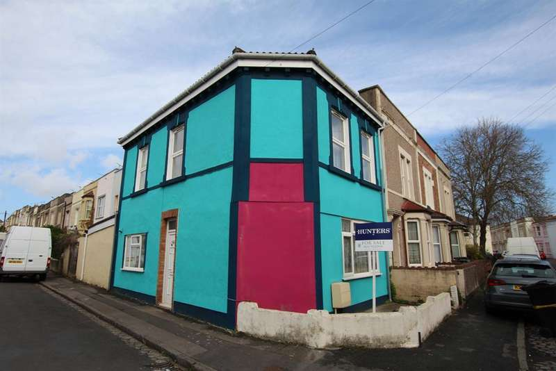 2 Bedrooms End Of Terrace House for sale in Chaplin Road, EASTON, Bristol