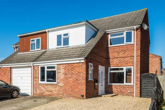 3 Bedrooms Semi Detached House for sale in Chesterton Road, Thatcham, RG18