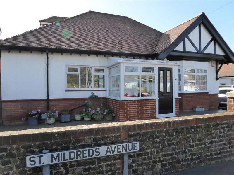 3 Bedrooms Detached Bungalow for sale in St. Mildreds Road, Ramsgate