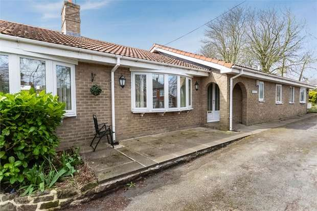 5 Bedrooms Detached Bungalow for sale in Thornley Road, Trimdon Station, Durham