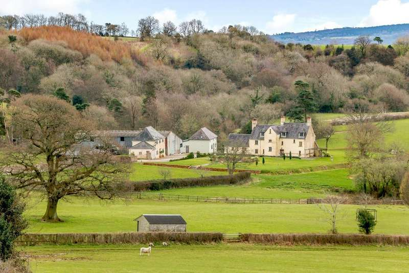 5 Bedrooms Farm Commercial for sale in Llangybi, Usk, Monmouthshire, NP15
