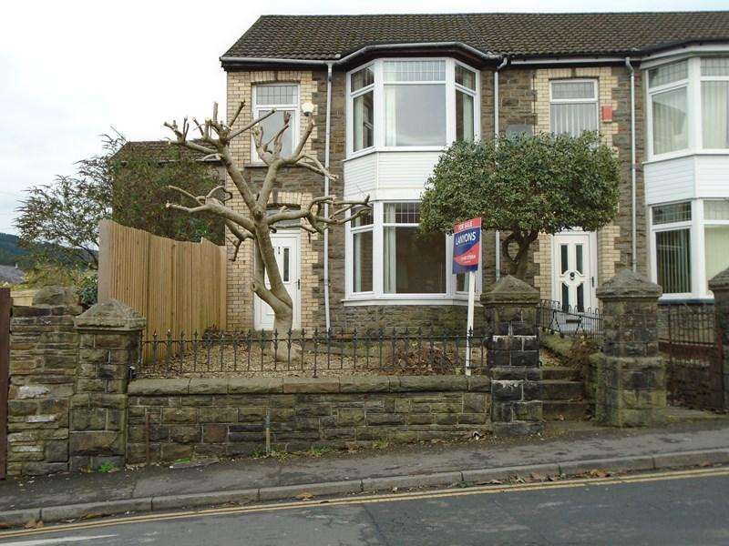 4 Bedrooms Semi Detached House for sale in Glyncoli Road, Treorchy
