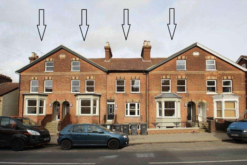 4 Bedrooms Terraced House for sale in Pembury Road, Tonbridge