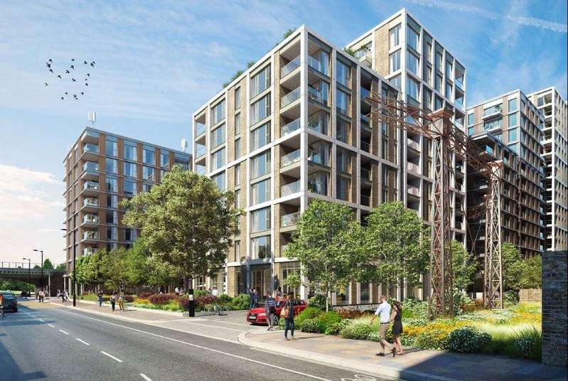 3 Bedrooms Flat for sale in Prince Of Wales Gardens, Prince of Wales Drive, London, SW8