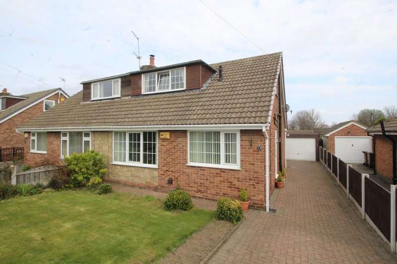 3 Bedrooms Semi Detached Bungalow for sale in St. Marys Avenue, Altofts