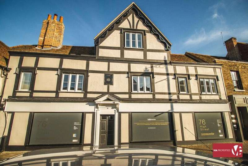 2 Bedrooms Apartment Flat for sale in Stanborough House, High Street, Hoddesdon, EN11