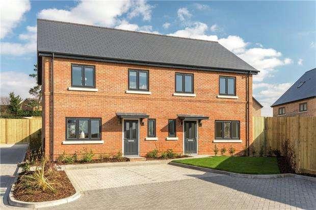 3 Bedrooms Semi Detached House for sale in Millennium Fields, Sandy Lane, Bracknell
