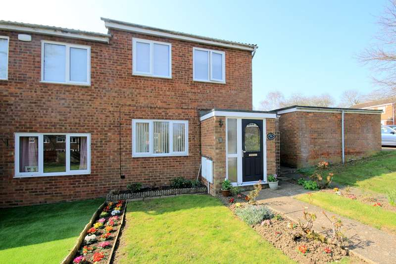 2 Bedrooms Semi Detached House for sale in Pheasant Walk, Flitwick, MK45