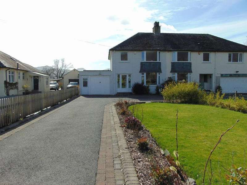 3 Bedrooms Semi Detached House for sale in Whitbeck, High Hill, Keswick, Cumbria, CA12 5PB