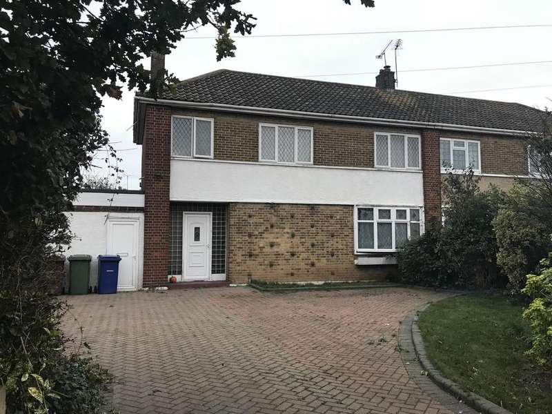 3 Bedrooms Semi Detached House for sale in Princess Margaret Road, East Tilbury