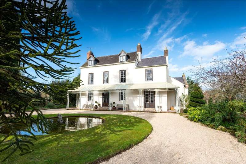 6 Bedrooms Detached House for sale in Villa Lane, Bicton, Shrewsbury