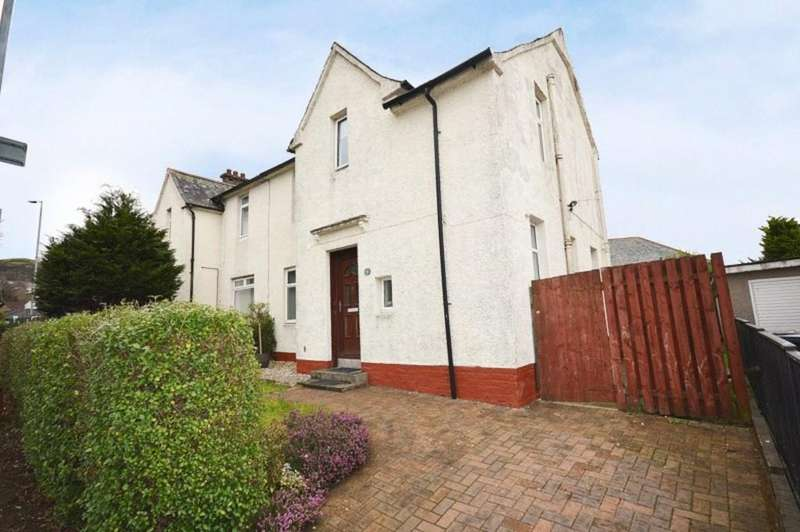 3 Bedrooms Semi Detached House for sale in Strowans Road, Dumbarton G82 2PB