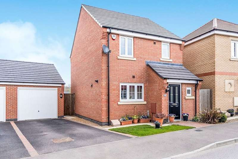 3 Bedrooms Detached House for sale in Foxglove Avenue, Thurnby, Leicester, LE7