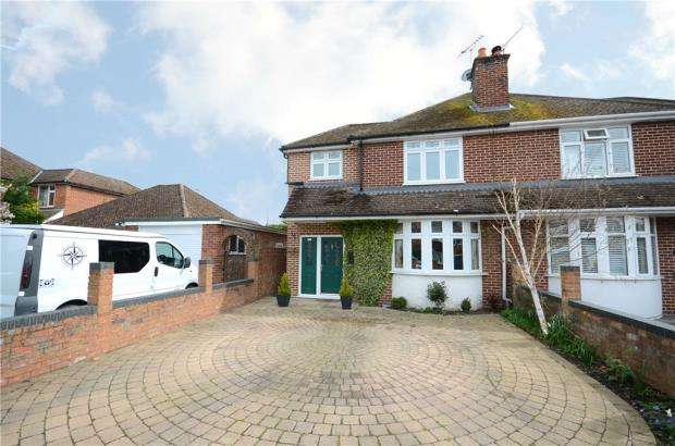 3 Bedrooms Semi Detached House for sale in Florence Road, College Town, Sandhurst