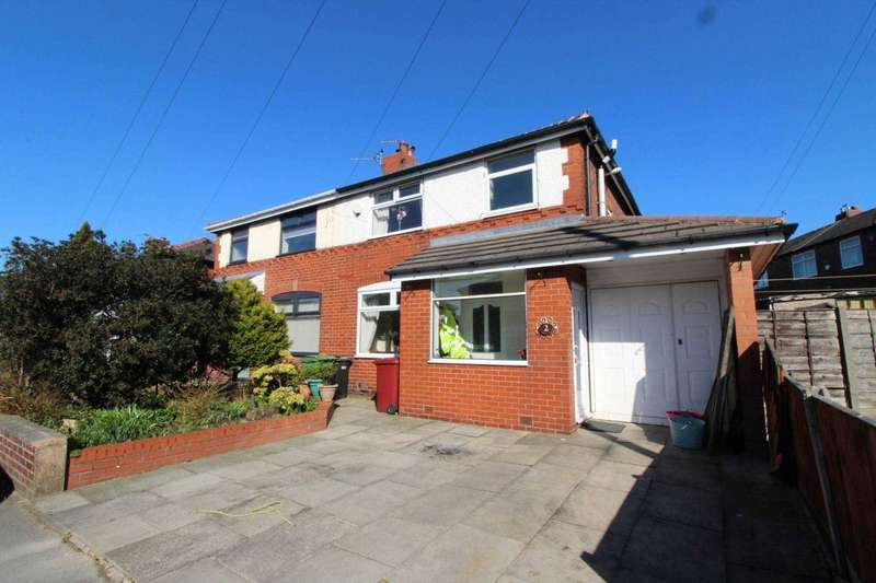 3 Bedrooms Semi Detached House for sale in Wyndham Avenue, Bolton
