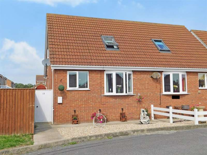 2 Bedrooms Semi Detached Bungalow for sale in Skipworth Way, Winthorpe, Skegness, PE25 1RS