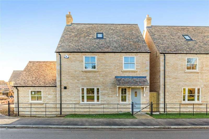 4 Bedrooms Detached House for sale in 2 Gwash Meadows, Ryhall, Stamford, Lincolnshire, PE9
