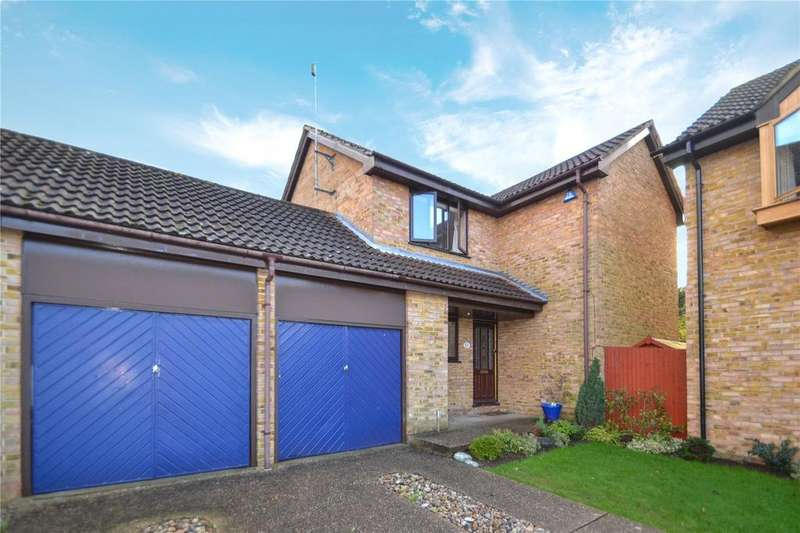 4 Bedrooms Detached House for sale in Hertford Close, Woosehill, Wokingham, Berkshire, RG41