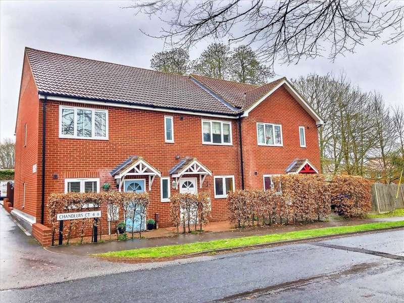 3 Bedrooms Terraced House for sale in Chandlers Court, Tidworth