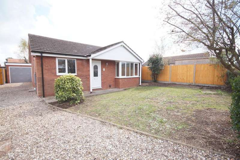 2 Bedrooms Detached Bungalow for sale in Kirmington Close, Lincoln