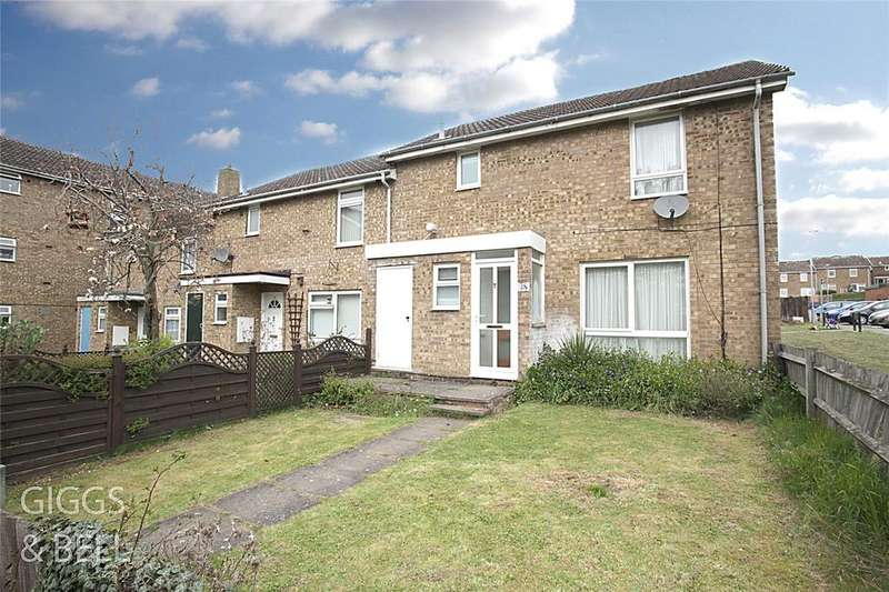 3 Bedrooms End Of Terrace House for sale in Morris Close, Luton, Bedfordshire, LU3