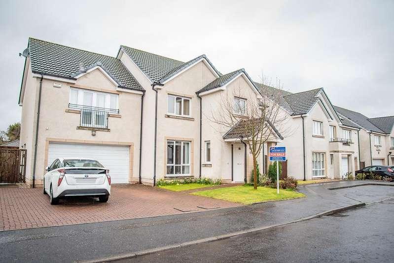 5 Bedrooms Detached House for sale in 33 Galbraith Crescent, Kinnaird, Larbert FK5 4GZ