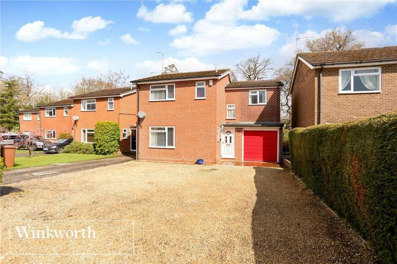 4 Bedrooms Detached House for sale in Greenways, Woolton Hill, Newbury, Hampshire, RG20