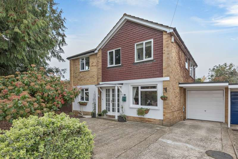 4 Bedrooms Link Detached House for sale in Orchard Close, Spencers Wood, Reading, RG7