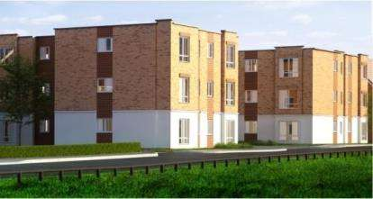 1 Bedroom Flat for sale in Miliners Place, Caleb Close, Luton