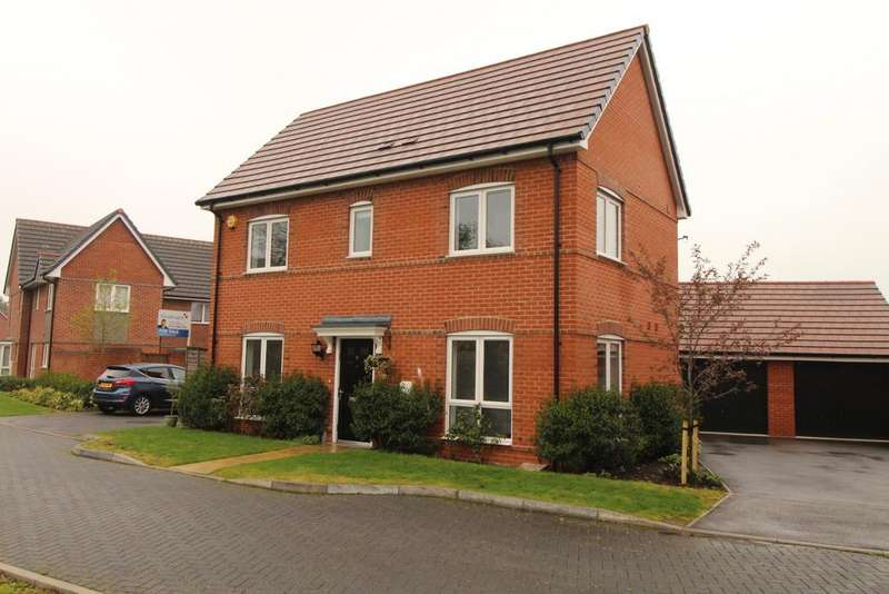 3 Bedrooms Detached House for sale in Pither Close, Spencers Wood, Reading, RG7 1EQ