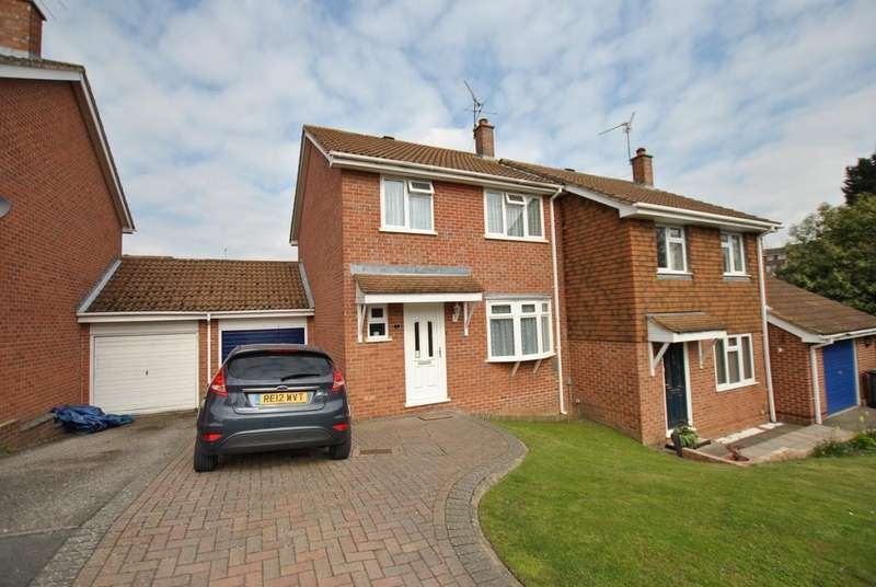 3 Bedrooms Semi Detached House for sale in Bracken Close, Tilehurst, Reading, RG31 5WA