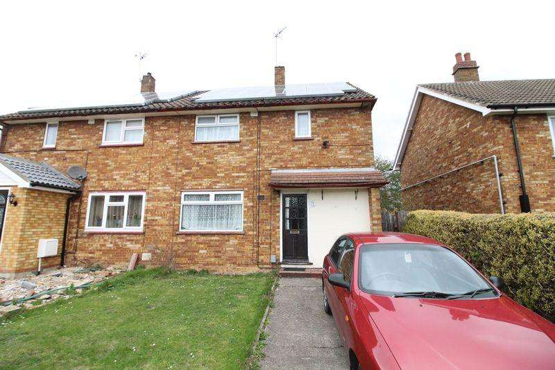3 Bedrooms Semi Detached House for sale in Three Bedroom Semi Detached On Wycliffe Close, Luton