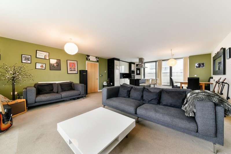 2 Bedrooms Apartment Flat for sale in Vickery's Wharf, Stainsby Road, London E14
