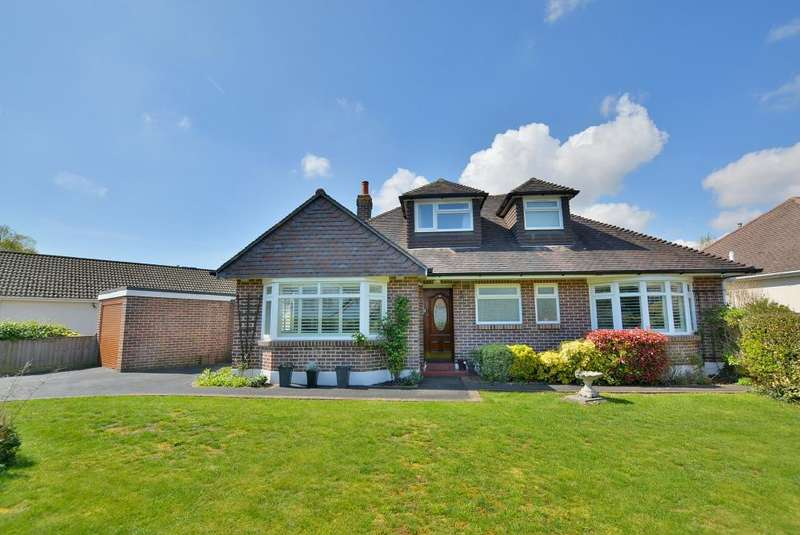 4 Bedrooms Chalet House for sale in Headswell Crescent, Redhill, Bournemouth, Dorset BH10 6LF