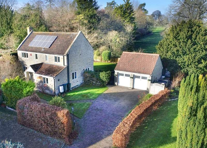 4 Bedrooms Detached House for sale in Mounsdon Close, Butleigh, Glastonbury, Somerset, BA6