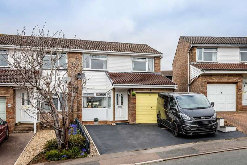 3 Bedrooms Semi Detached House for sale in Primrose Way, Lydney