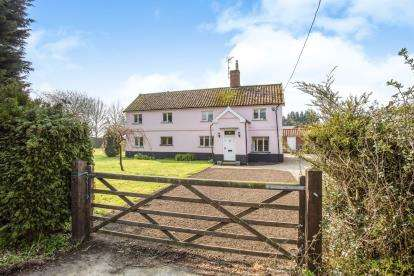 5 Bedrooms Detached House for sale in Laxfield, Woodbridge, Suffolk