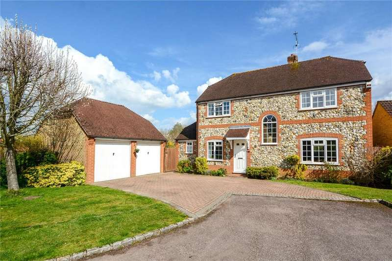 4 Bedrooms Detached House for sale in Goldsmith Close, Finchampstead, Berkshire, RG40
