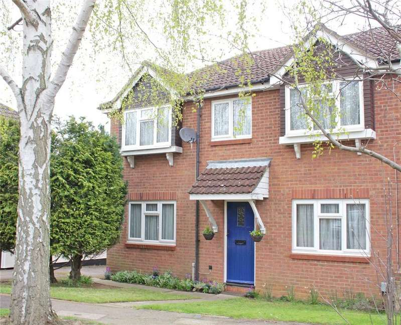 3 Bedrooms End Of Terrace House for sale in Harwood Close, Welwyn Garden City, Hertfordshire