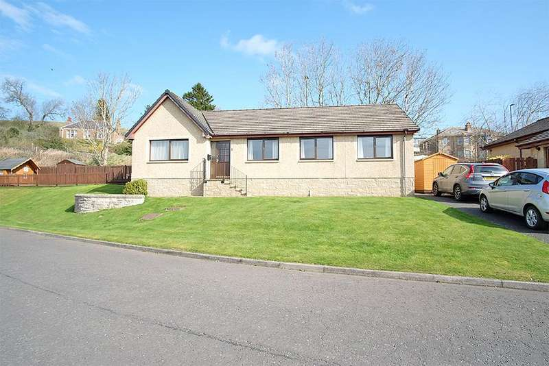4 Bedrooms Detached Bungalow for sale in 8 Haughhead Avenue, Earlston TD4 6HT