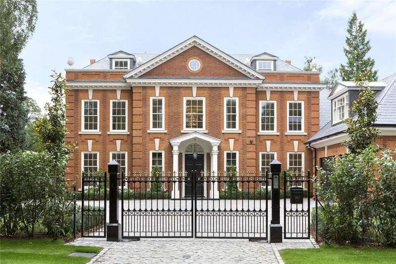 6 Bedrooms Detached House for sale in Albury Road, Burwood Park, Walton-on-Thames, Surrey, KT12