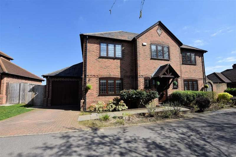 4 Bedrooms Detached House for sale in Chandler Close, Tilehurst, Reading
