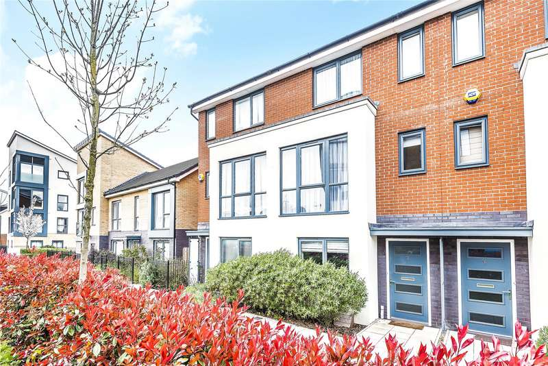 3 Bedrooms Town House for sale in Greenham Avenue, Reading, Berkshire, RG2